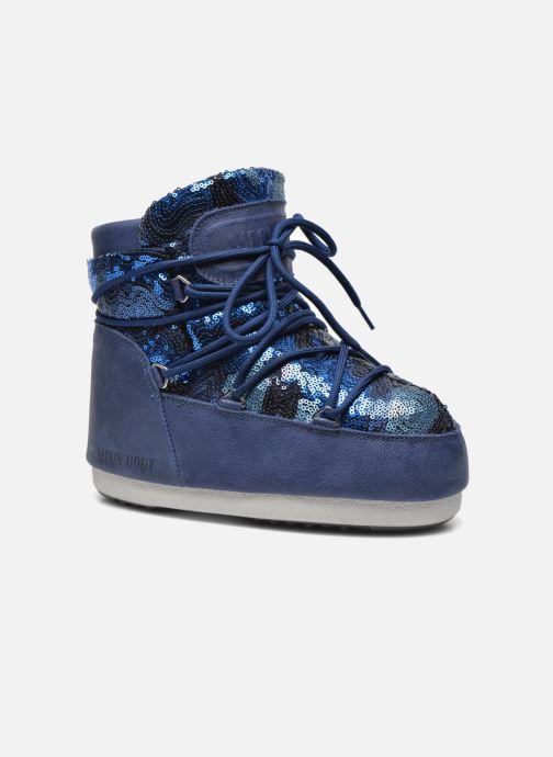 Stiefeletten & Boots Moon Boot Buzz Paillettes blau detaillierte ansicht/modell