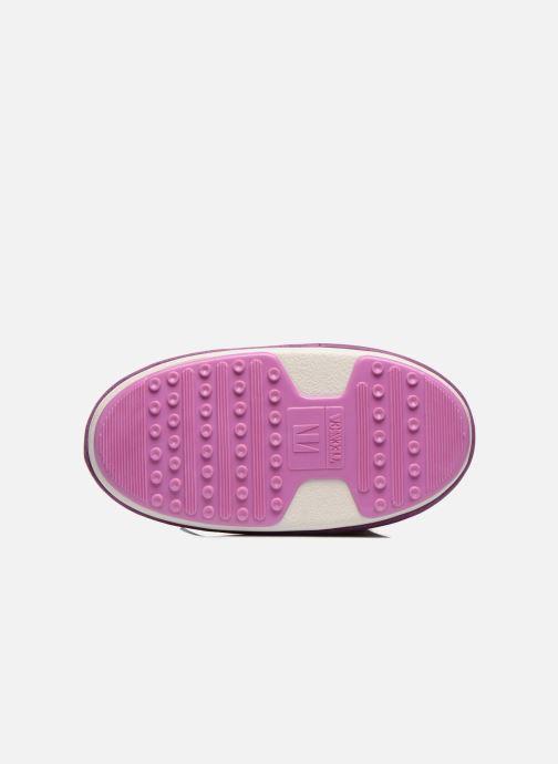 Stiefeletten & Boots Moon Boot Buzz Paillettes rosa ansicht von oben