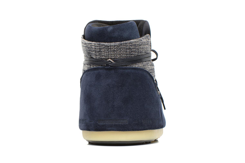Bottines et boots Moon Boot Buzz Mix Bleu vue droite