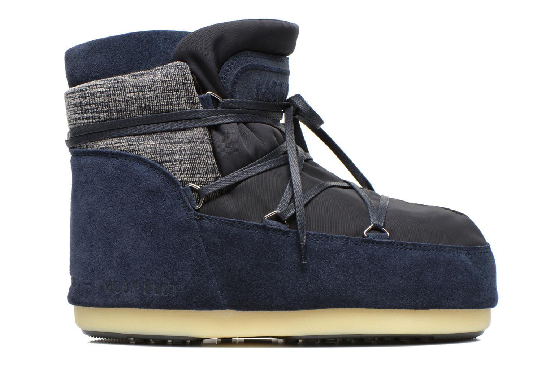 Bottines et boots Moon Boot Buzz Mix Bleu vue derrière