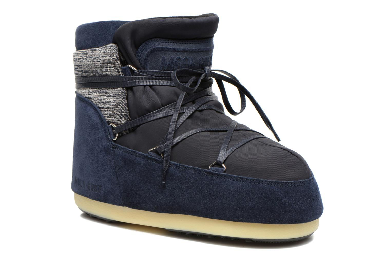 Bottines et boots Moon Boot Buzz Mix Bleu vue détail/paire