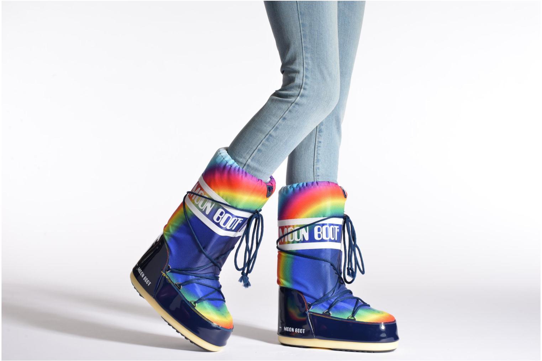 Chaussures de sport Moon Boot Rainbow 2.0 Multicolore vue bas / vue portée sac