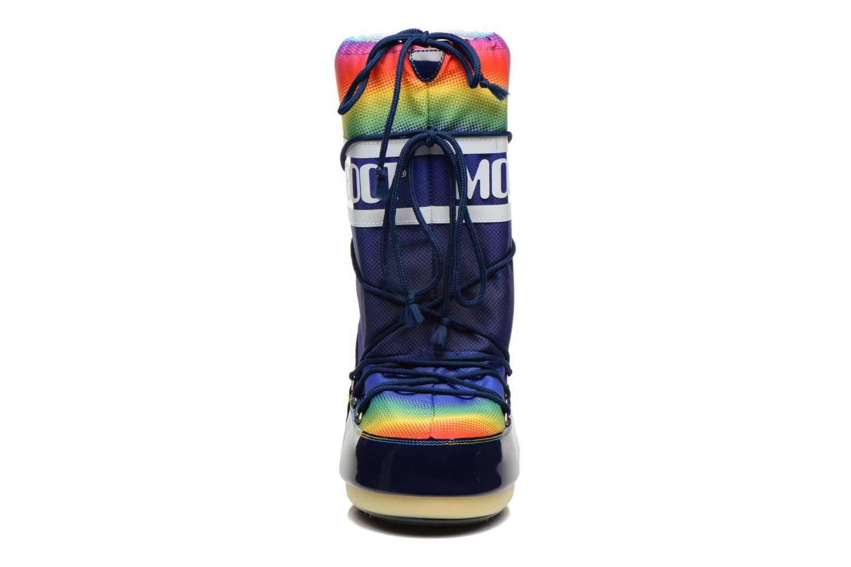 Chaussures de sport Moon Boot Rainbow 2.0 Multicolore vue portées chaussures
