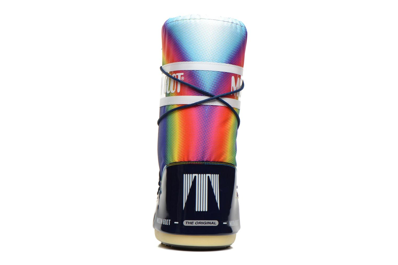 Chaussures de sport Moon Boot Rainbow 2.0 Multicolore vue droite