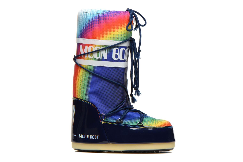 Chaussures de sport Moon Boot Rainbow 2.0 Multicolore vue derrière