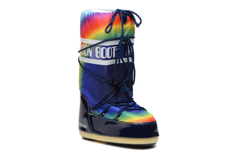 Chaussures de sport Moon Boot Rainbow 2.0 Multicolore vue détail/paire