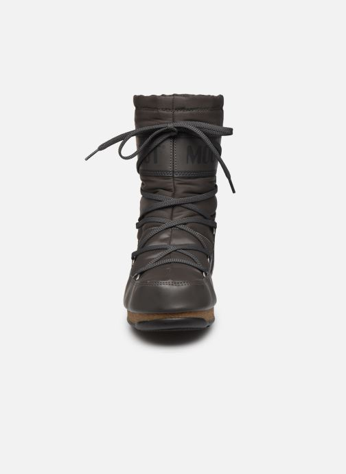 Chaussures de sport Moon Boot Soft Shade Mid Gris vue portées chaussures
