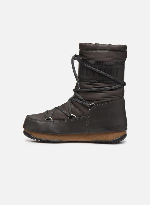 Sportschuhe Moon Boot Soft Shade Mid grau ansicht von vorne