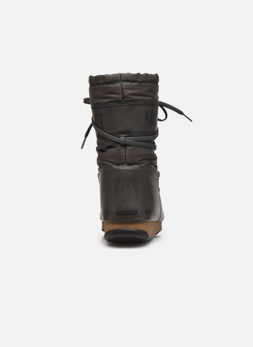 Sportschuhe Moon Boot Soft Shade Mid grau ansicht von rechts