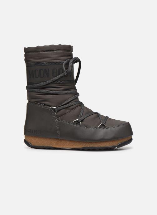 Sportschuhe Moon Boot Soft Shade Mid grau ansicht von hinten