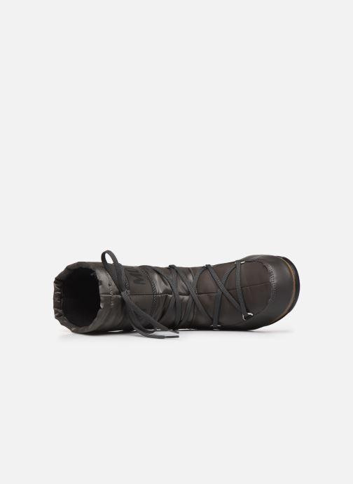 Sportschuhe Moon Boot Soft Shade Mid grau ansicht von links