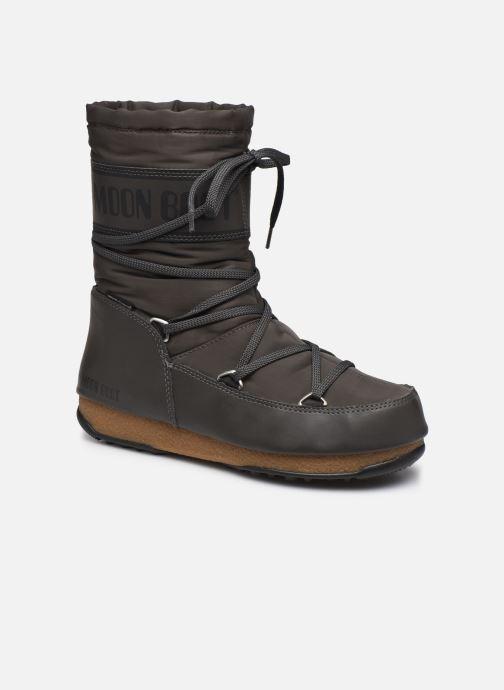 Chaussures de sport Moon Boot Soft Shade Mid Gris vue détail/paire