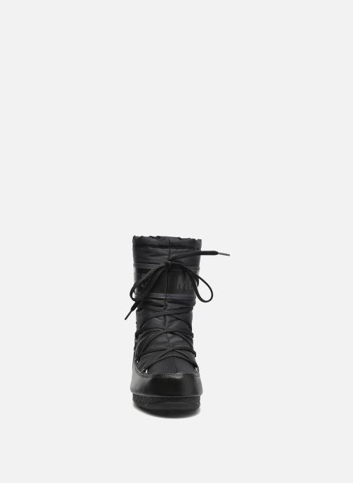 Chaussures de sport Moon Boot Soft Shade Mid Noir vue portées chaussures