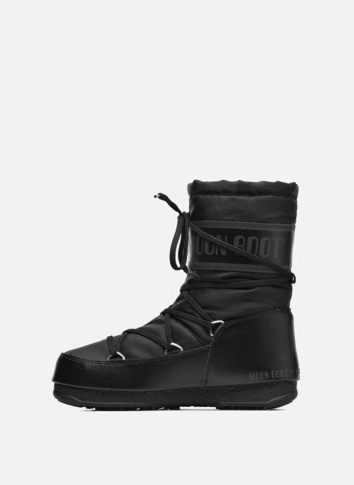 Sportschuhe Moon Boot Soft Shade Mid schwarz ansicht von vorne
