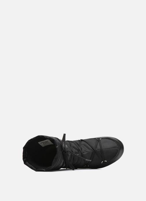 Sportschuhe Moon Boot Soft Shade Mid schwarz ansicht von links