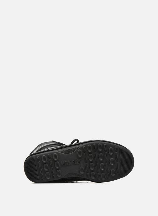 Sportschuhe Moon Boot Soft Shade Mid schwarz ansicht von oben