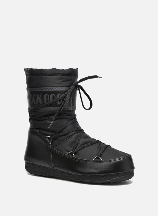 Chaussures de sport Moon Boot Soft Shade Mid Noir vue détail/paire