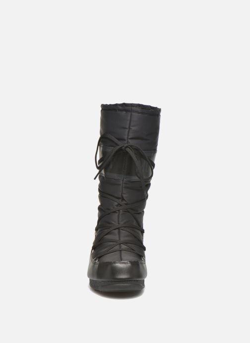 Chaussures de sport Moon Boot Soft Shade Noir vue portées chaussures