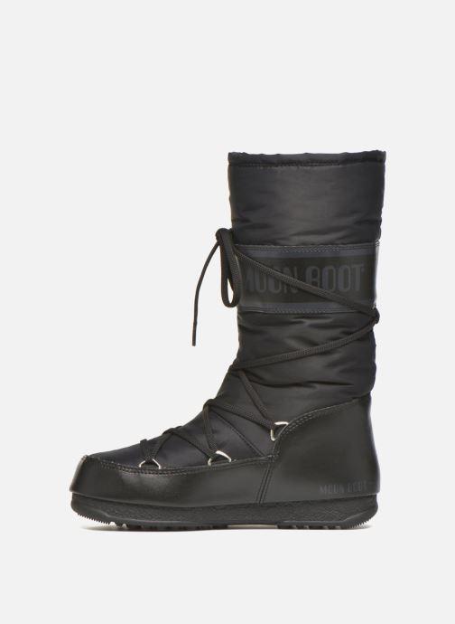 Sportschuhe Moon Boot Soft Shade schwarz ansicht von vorne