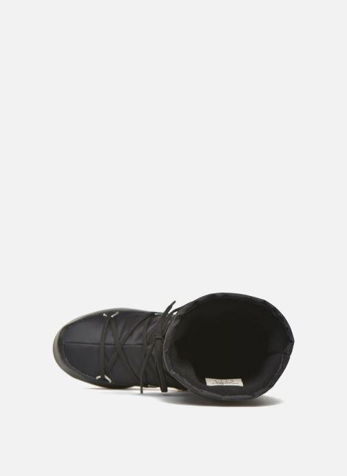 Zapatillas de deporte Moon Boot Soft Shade Negro vista lateral izquierda