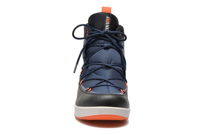 Chaussures de sport Moon Boot Neil Bleu vue portées chaussures