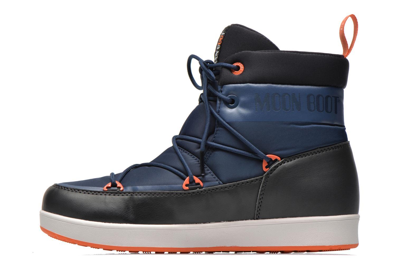 Chaussures de sport Moon Boot Neil Bleu vue face