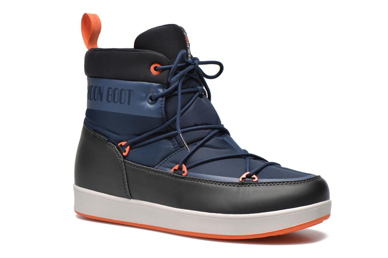 Chaussures de sport Moon Boot Neil Bleu vue détail/paire