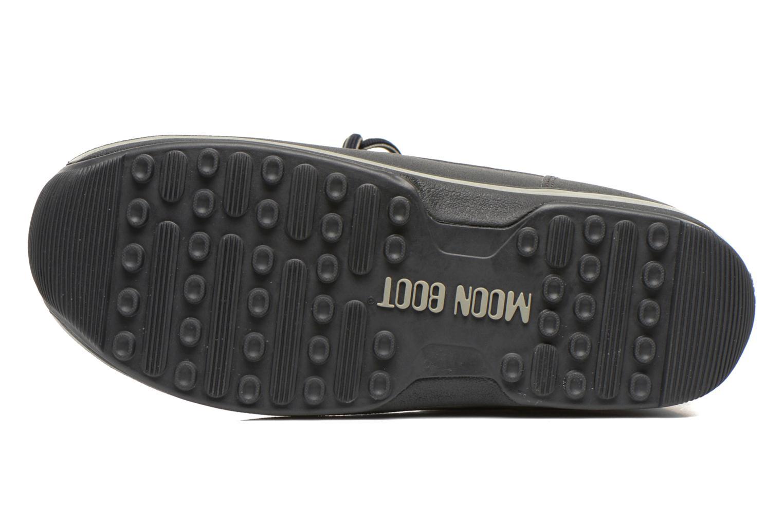 Zapatillas de deporte Moon Boot Lem Lea Marrón vista de arriba