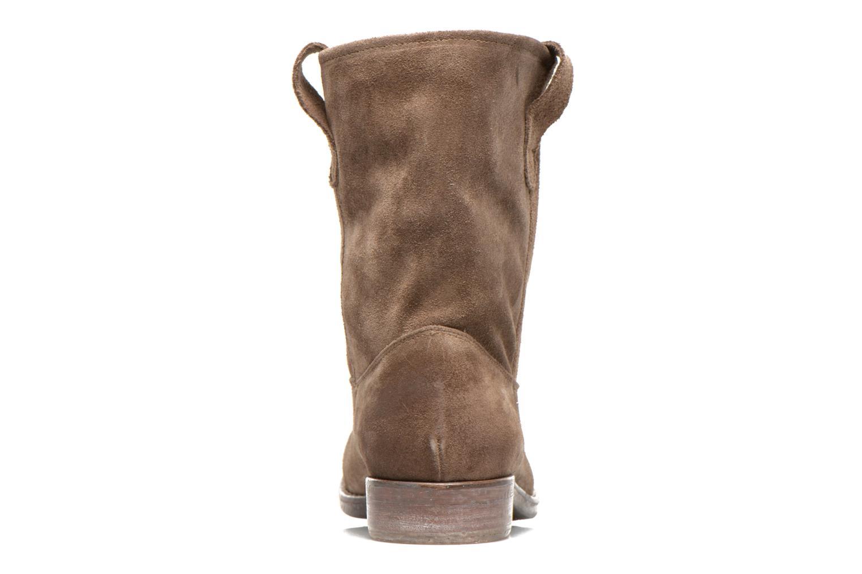 Bottines et boots Eden AMALIA Marron vue droite