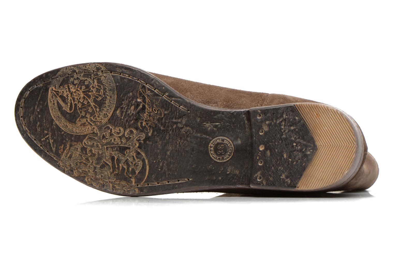 Bottines et boots Eden AMALIA Marron vue haut