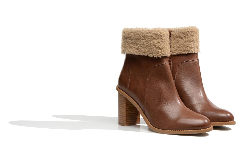Boots en enkellaarsjes Made by SARENZA Chantilly Chérie #9 Bruin achterkant
