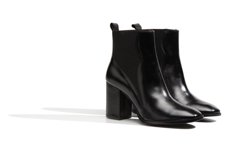 Bottines et boots Made by SARENZA Smoking Simone #6 Noir vue derrière