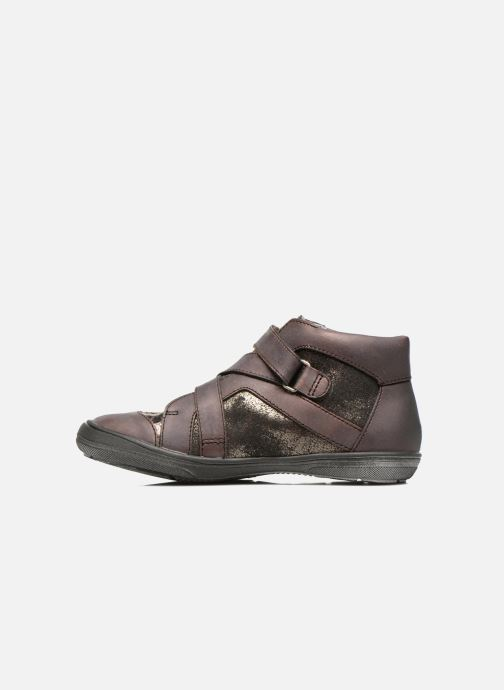 Velcro shoes Catimini Calamar Bronze and Gold front view