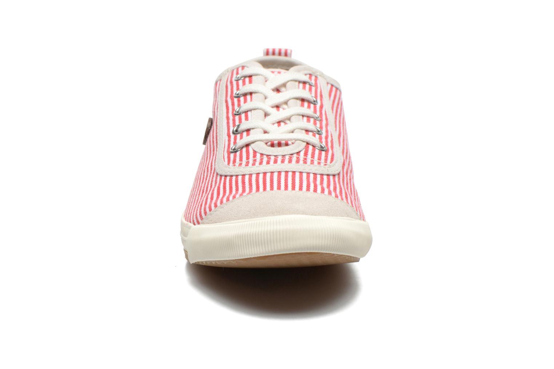 Sneaker Faguo Oak Suede M rot schuhe getragen