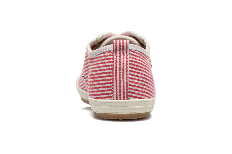 Baskets Faguo Oak Suede M Rouge vue droite