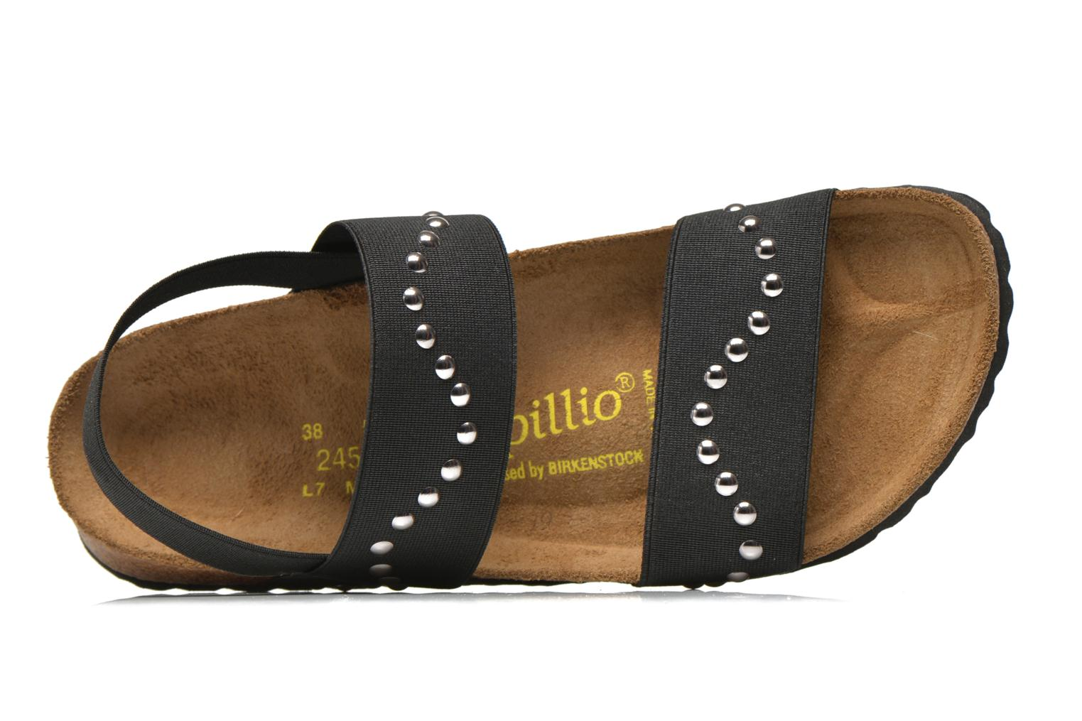 Sandals Papillio Caterina Stretch W Black view from the left