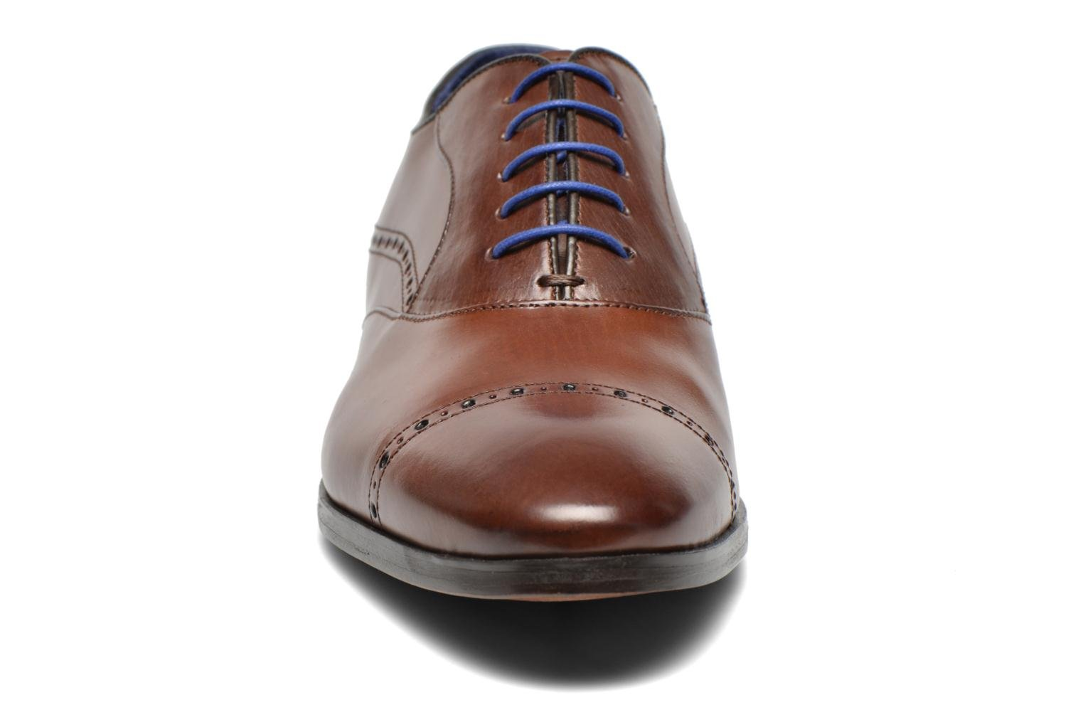 Lace-up shoes Azzaro Depech Brown model view
