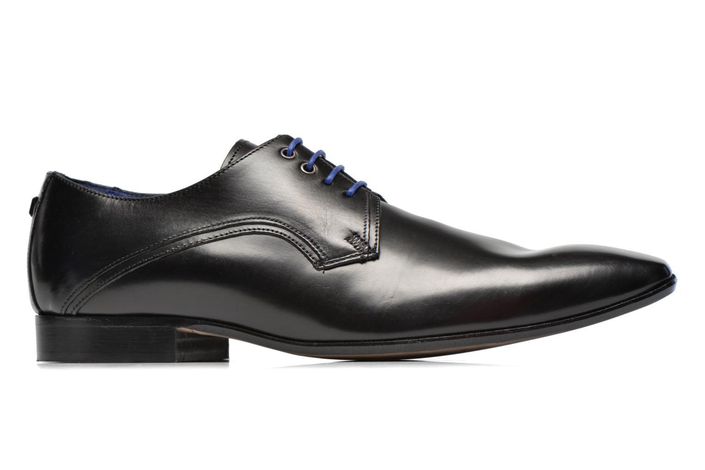 Zapatos con cordones Azzaro Alozan Negro vistra trasera