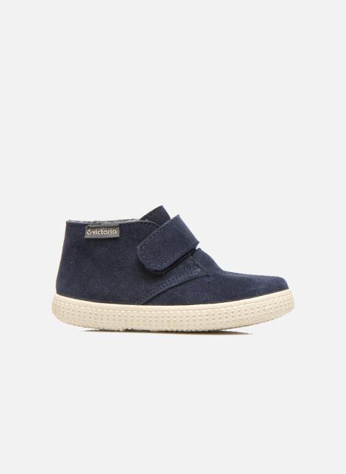 Chaussures à scratch Victoria Safari Serraje Velcro Bleu vue derrière
