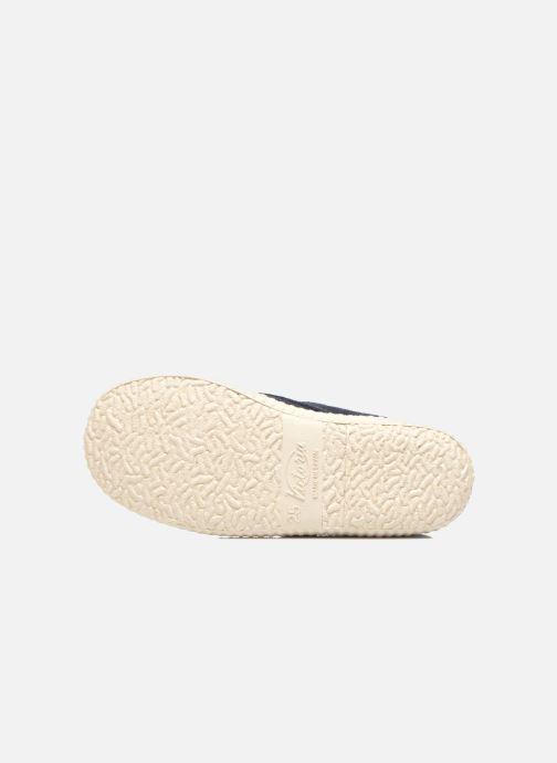 Chaussures à scratch Victoria Safari Serraje Velcro Bleu vue haut