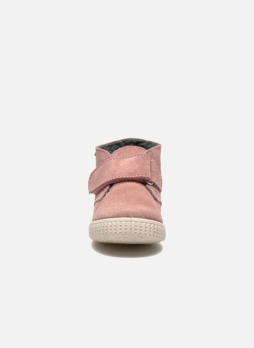 Schoenen met klitteband Victoria Safari Serraje Velcro Roze model