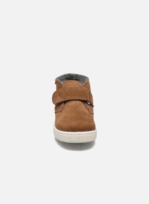 Chaussures à scratch Victoria Safari Serraje Velcro Marron vue portées chaussures