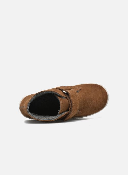 Schoenen met klitteband Victoria Safari Serraje Velcro Bruin links
