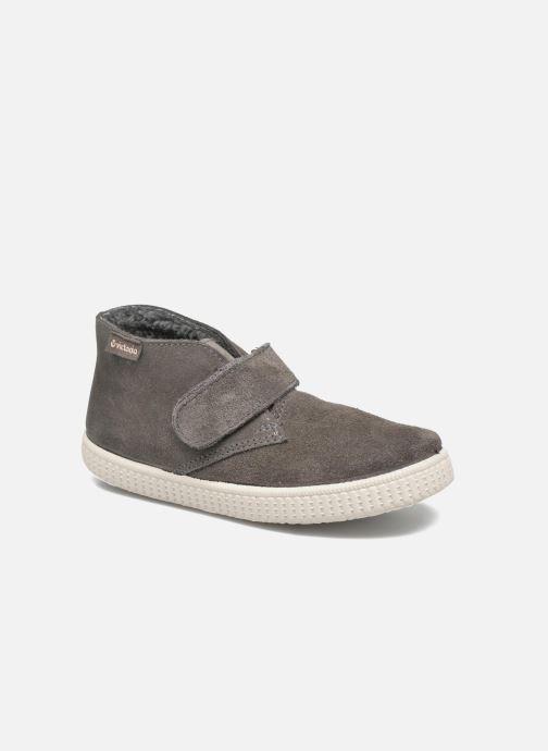 Zapatos con velcro Victoria Safari Serraje Velcro Gris vista de detalle / par