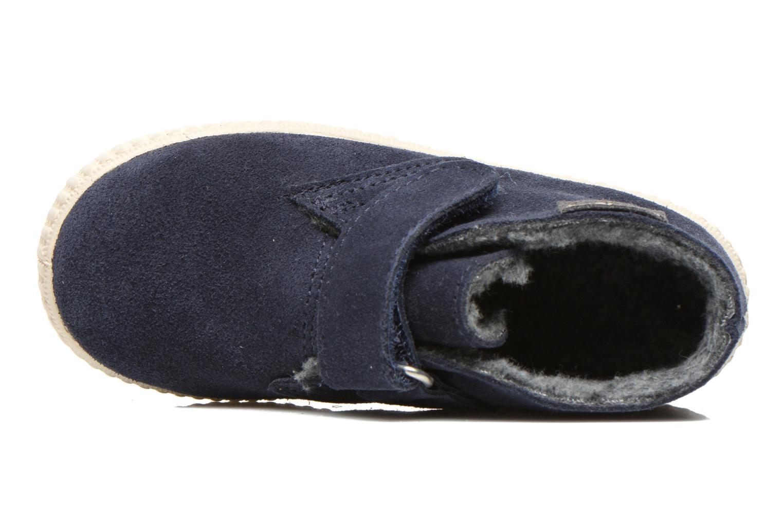 Chaussures à scratch Victoria Safari Serraje Velcro Bleu vue gauche