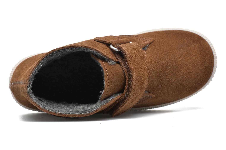 Chaussures à scratch Victoria Safari Serraje Velcro Marron vue gauche