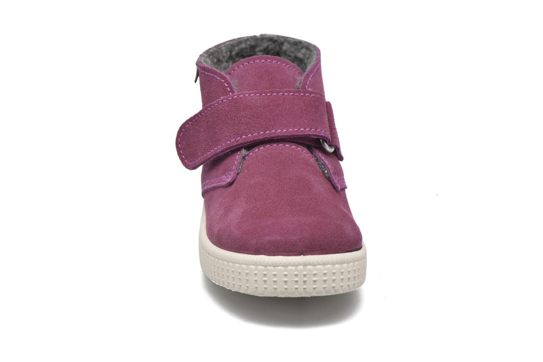 Chaussures à scratch Victoria Safari Serraje Velcro Rouge vue portées chaussures