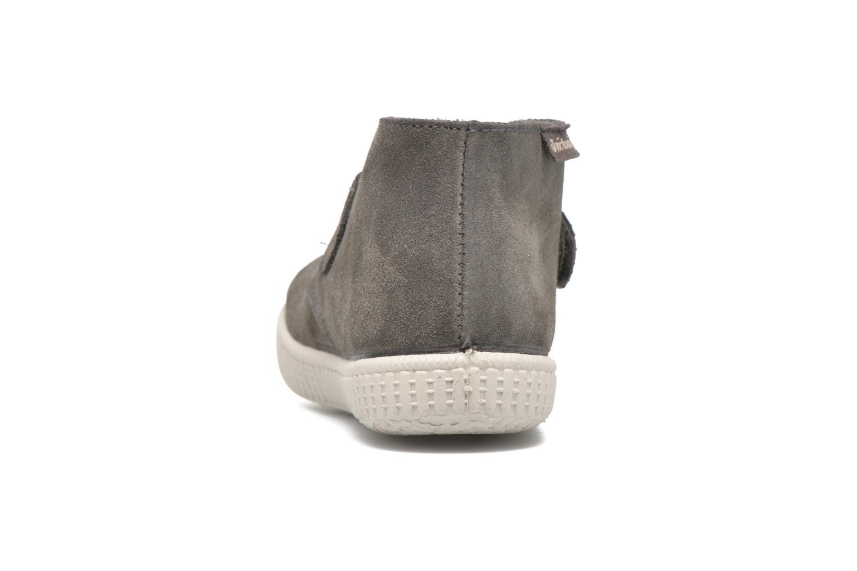 Chaussures à scratch Victoria Safari Serraje Velcro Gris vue droite