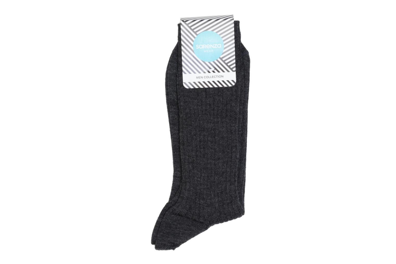 Chaussettes et collants Sarenza Wear Chaussettes unies Gris vue détail/paire