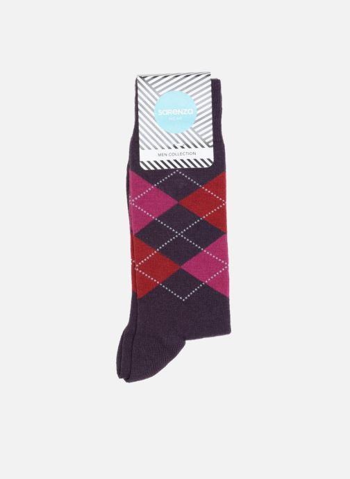 Socken & Strumpfhosen Sarenza Wear Socken Carreaux lila detaillierte ansicht/modell